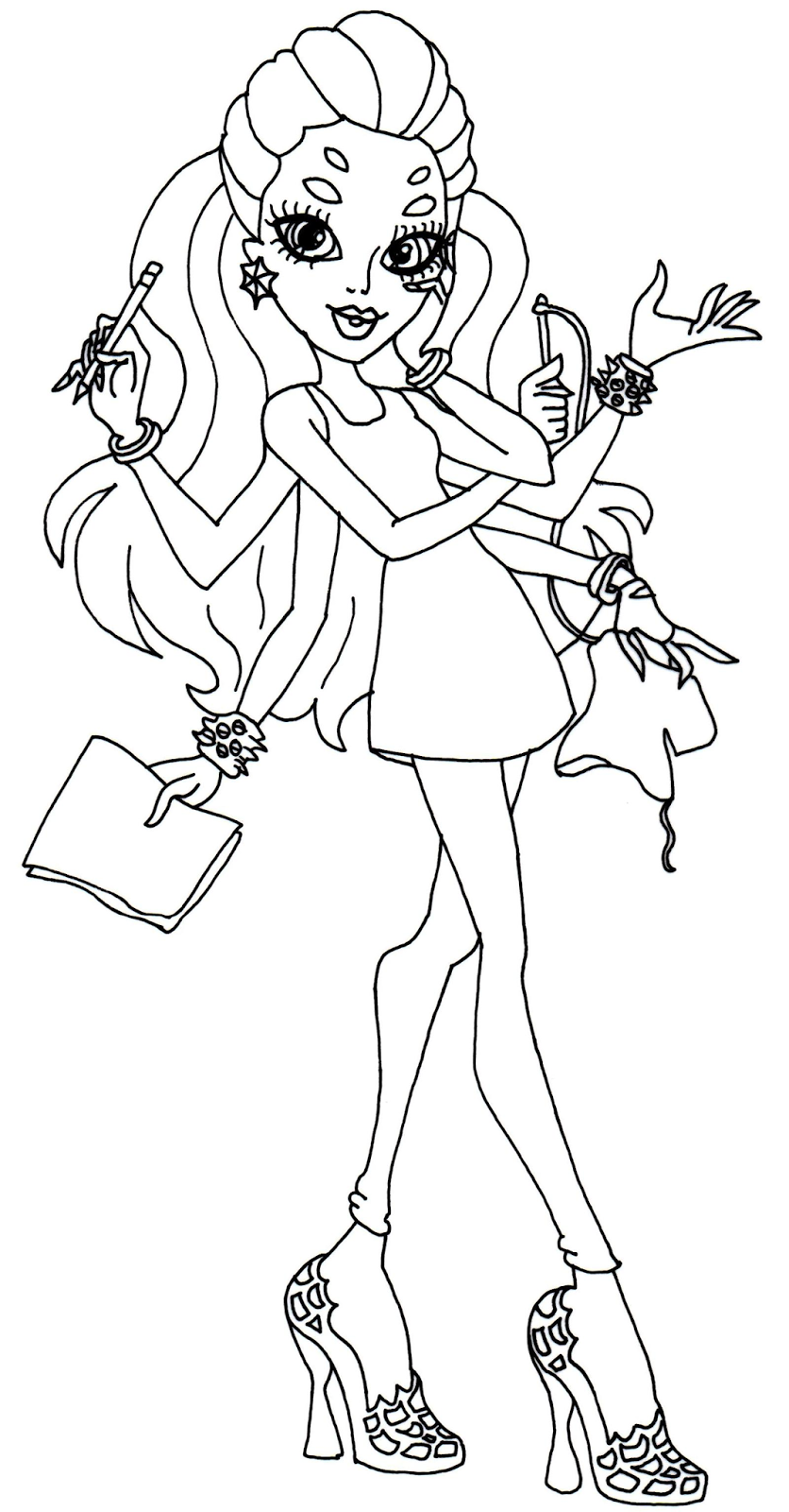 bratz cheerleader colouring pages colouring bratz monster high