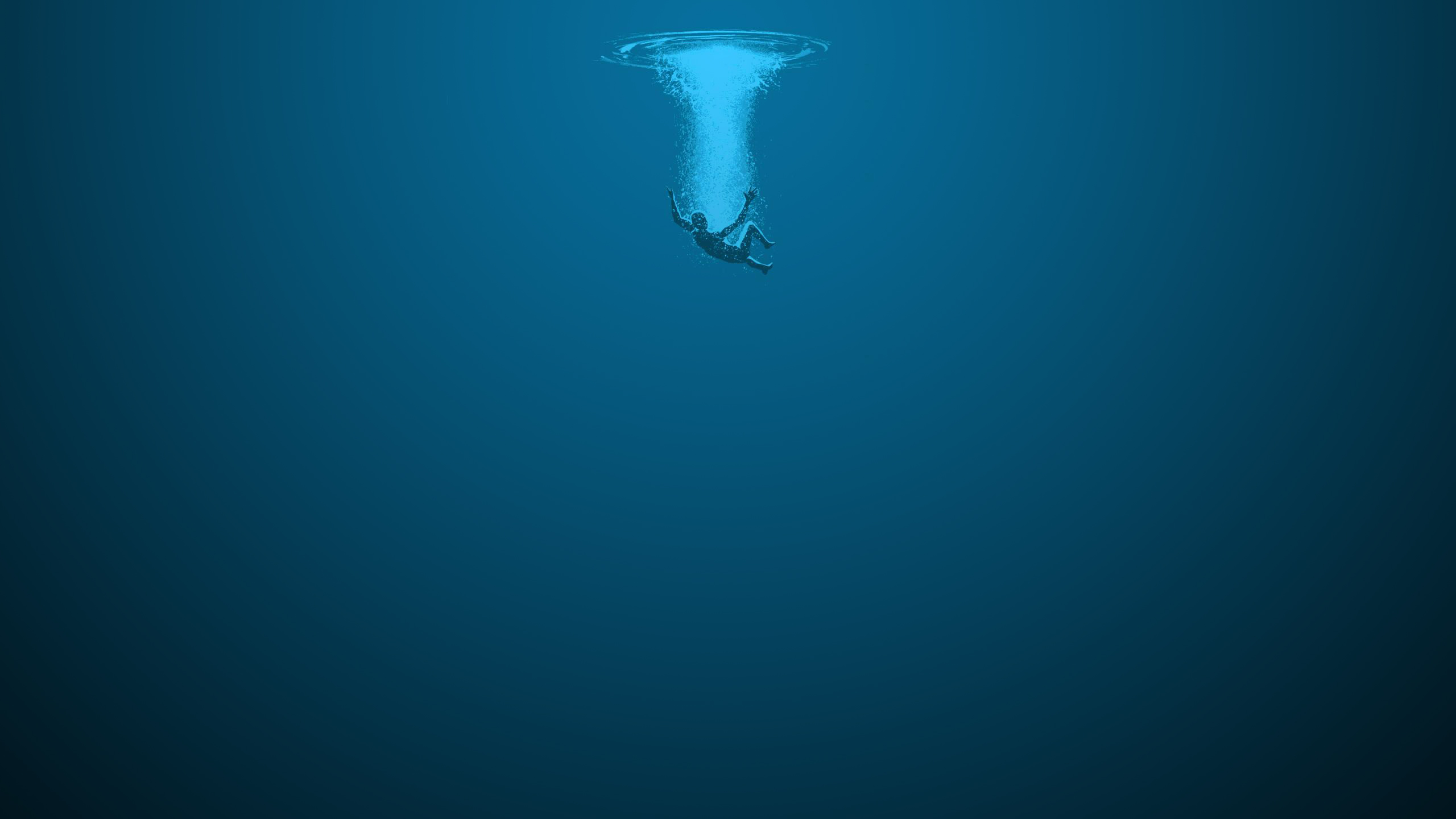 Immersed in the cold open waters. Falling. Plunging into the depths of the sea, with no grasp of the air I need… | Underwater wallpaper,  Ocean wallpaper, Underwater