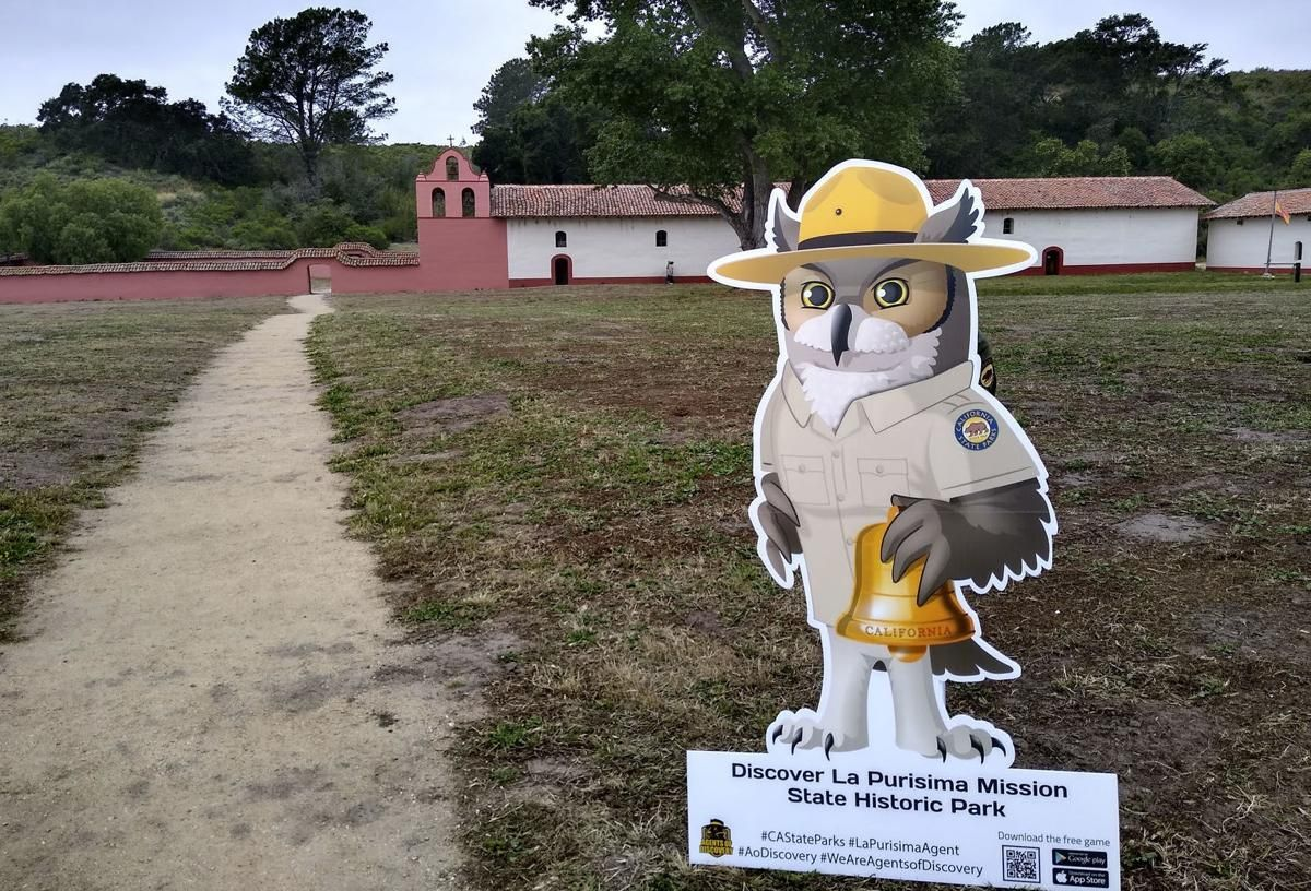 'Agents of Discovery' La Purisima Mission using app to