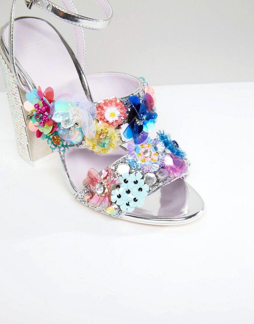 ASOS SALOON Embellished Heels P9rzGsxLb0