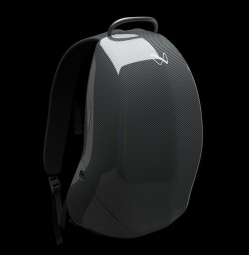 Discovery carbon fiber backpack 1 ($3,467)