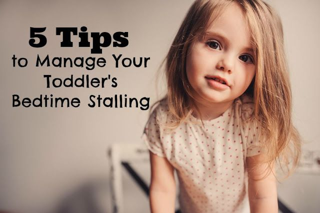 5 Tips to Manage Your Toddler's Bedtime Stalling plus Enter to win 1 of 2 copies of The 5-Step System to Better Toddler Sleep (eBook)