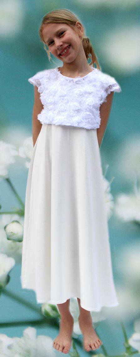 Blumenmädchenkleid aus München | Kommunion kleider ...
