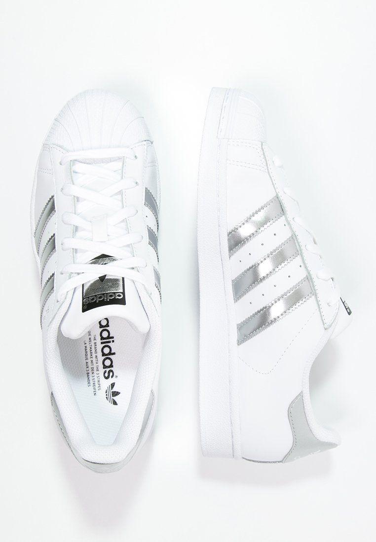save off b55d0 a1ad2 adidas Originals SUPERSTAR - Tenisówki i Trampki - white silver metallic core  black za 349 zł (31.01.16) zamów bezpłatnie na Zalando.pl.