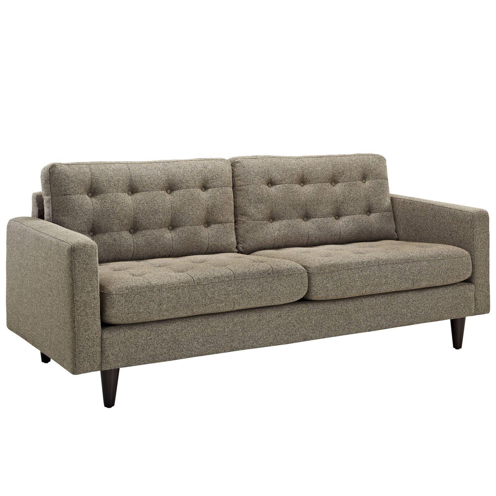 Amazon Com Lexmod Empress Upholstered Sofa Azure Granite