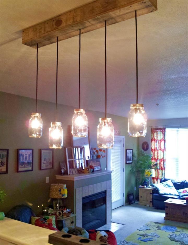 35 mason jar lights do it yourself ideas diy light