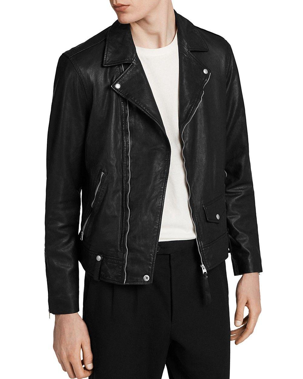 Allsaints Allsaints Jace Biker Jacket Allsaints Cloth Biker Jacket Men Jackets Biker Jacket [ 1250 x 1000 Pixel ]