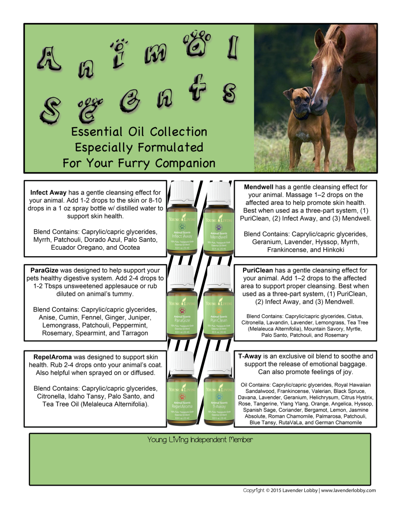 NewAnimalScents_OilCollection Essential oils for