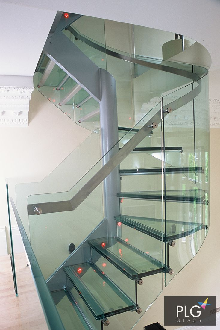 Best Glass Spiral Stairs We Installed For A Client Featuring 400 x 300