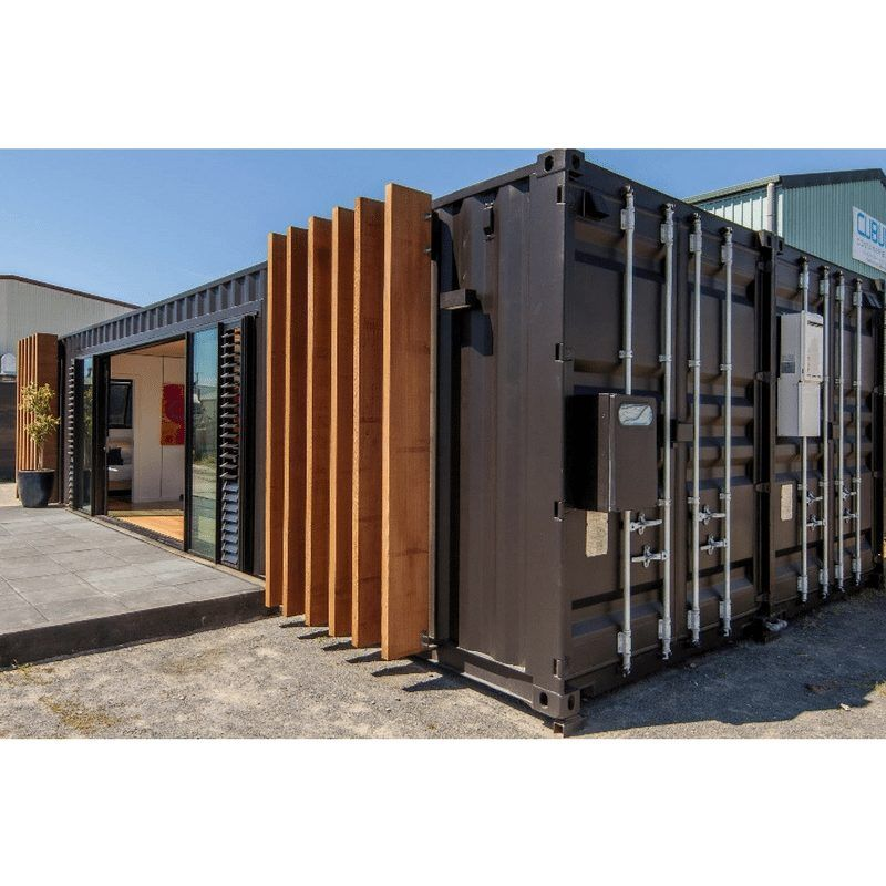 New Zealand Weekend Container Home Container Buildings Container Architecture Container House