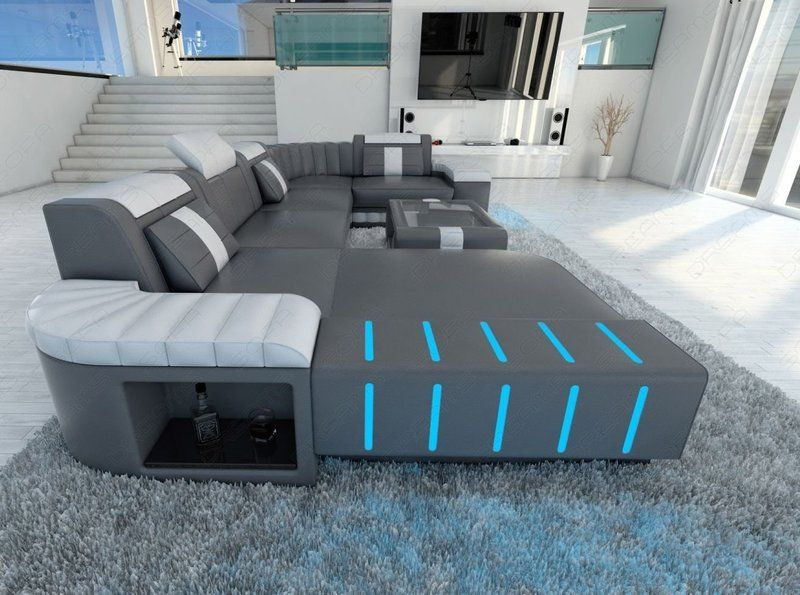 This Led Sectional Sofa Is Pretty Cool Futuristic Led Cool