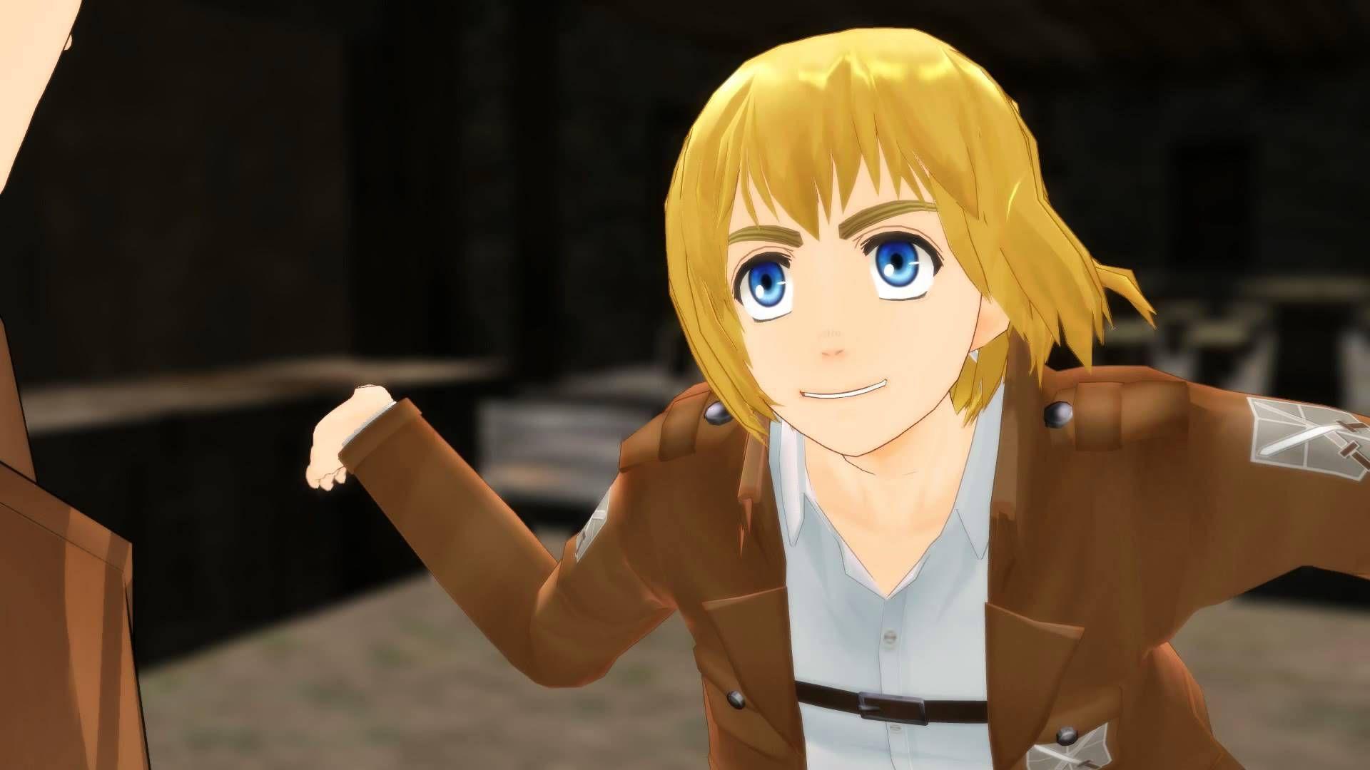 Mmd Street Rules Man Armin And Eren Funny Meme Attack On Titan Snk Shingeki No Kyojin Attack On Titan Armin Funny Memes