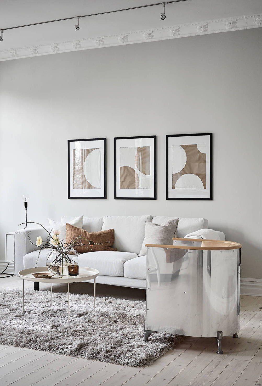 A warm greige home - via Coco Lapine Design blog | space | Pinterest ...