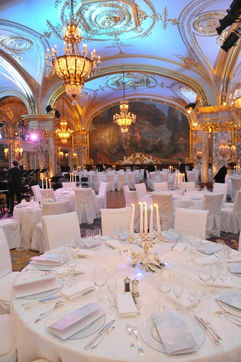 Hotel de Paris-Monte Carlo  Salle Empire Great meal.. Only place in Europe I eat a filet