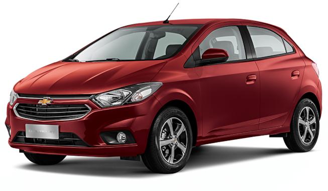 Chevrolet Onix Vermelho Carmim 2019 Carro Mais Vendido Carro