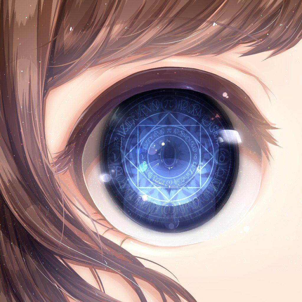 Фото рисунки аниме глаза