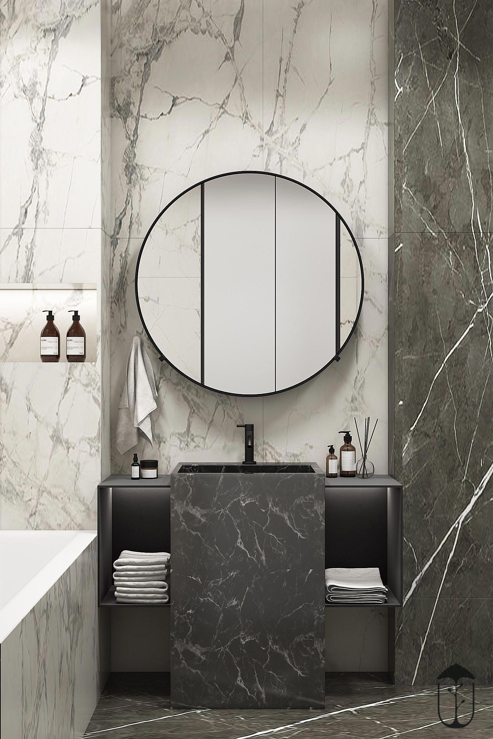 Die Definition von Design-Elemente des Luxus-Badezimmer