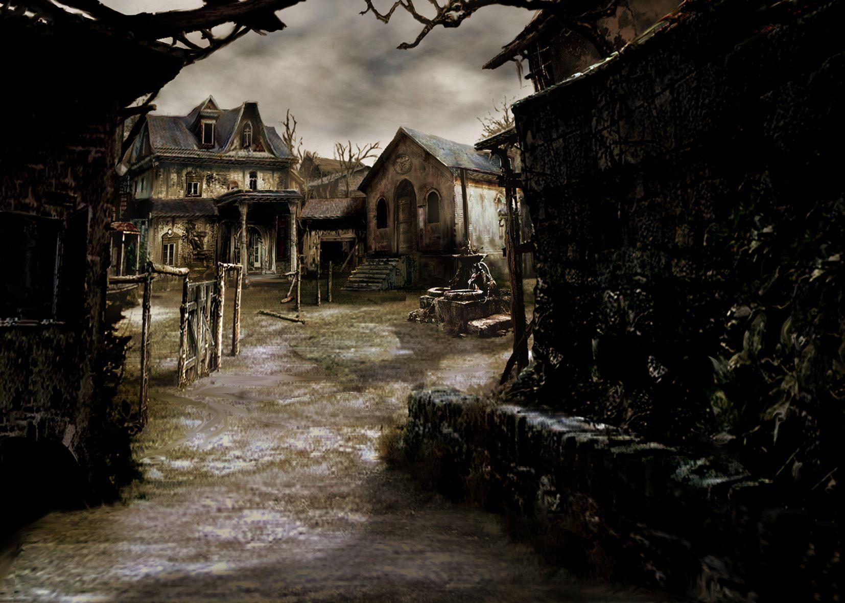 Resident Evil 4 Concept Art Resident Evil Locais Inspiracao