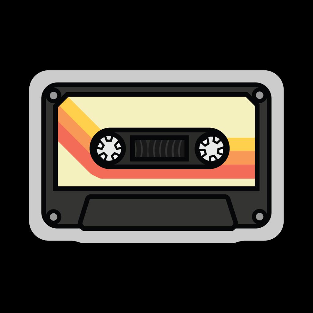 Stickers Northwest Cassette Tape Large Printed Sticker - Default Title