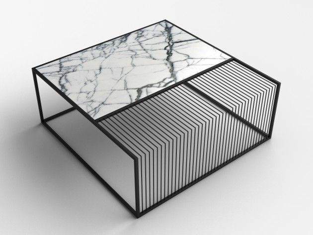 Zeren Saglamer Grill Table Made From Carrara Marble Selectism