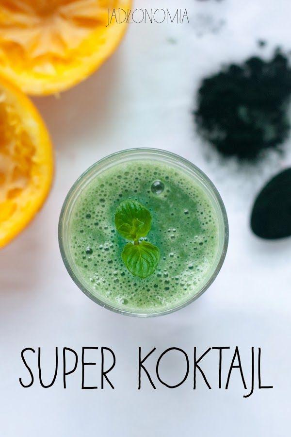 Super koktajl ze spiruliną   jadłonomia • przepisy wegetariańskie   Bloglovin'