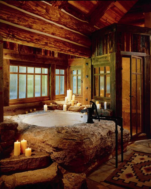 Dream House Luxury Rustic Design 40 Photos Rustikale Hutten