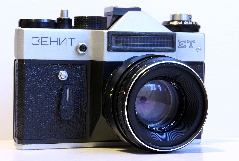 Zenit Et Ussr Vintage Slr Russian Film Camera Helios 44 2 2 58 M42