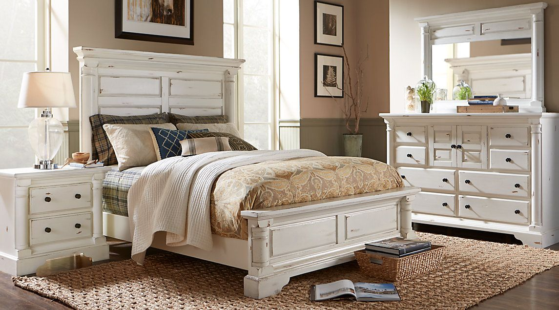 Affordable queen size bedroom furniture sets for sale - Traditional white bedroom furniture ...