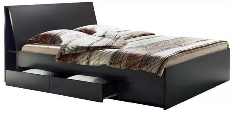 wwwikea bedroom furniture. Bed From Ikea (I Like The Black/Brown Combo) Http:// Wwwikea Bedroom Furniture L