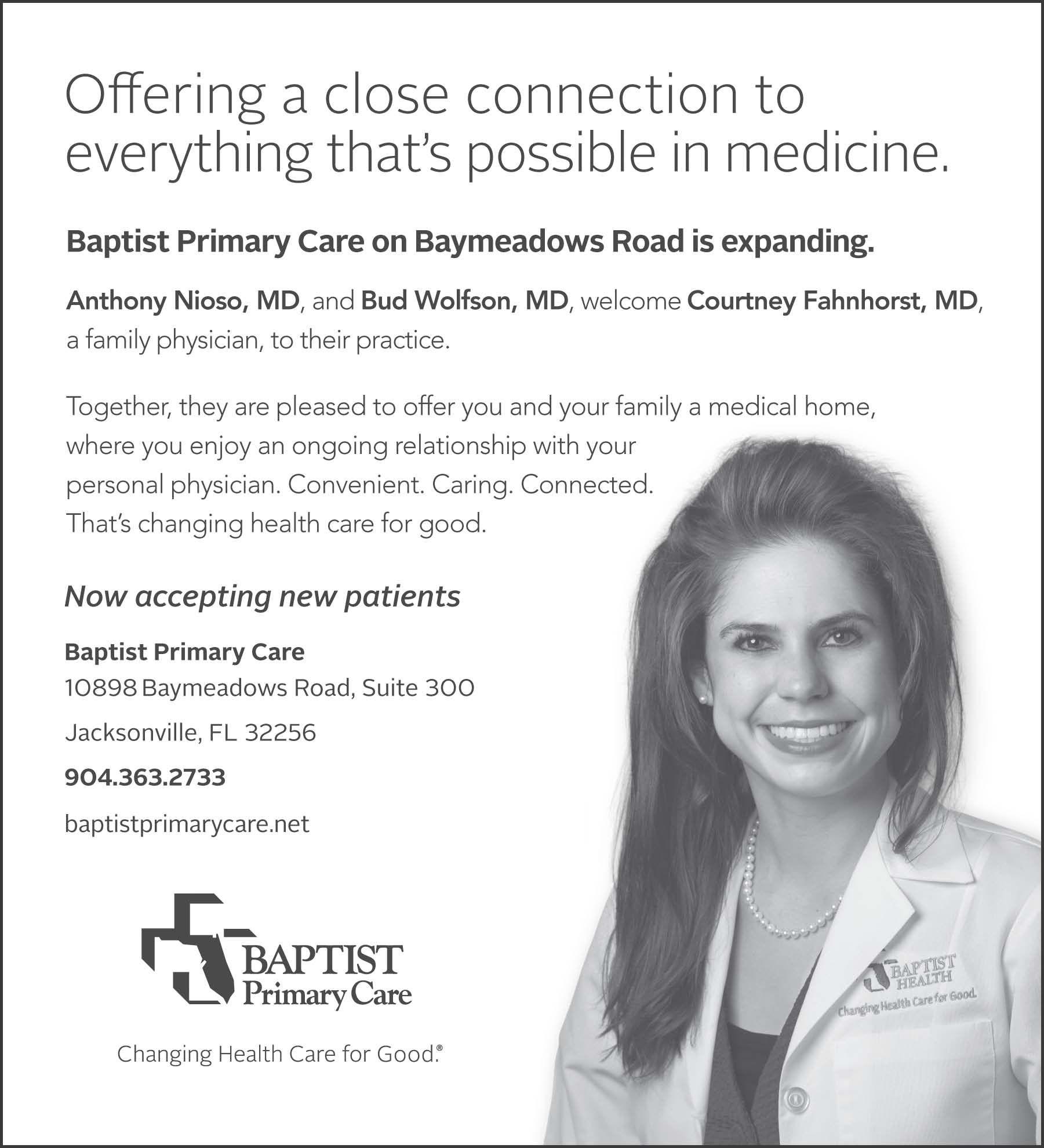 Baptist Hospital Reedy Branch Medicine, Baptist hospital