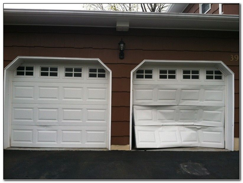 How much does it cost to fix a garage door panel check