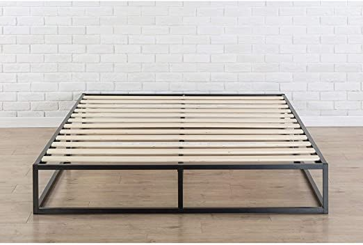 Fastfurnishings King Size Modern 10 Inch Low Profile Metal