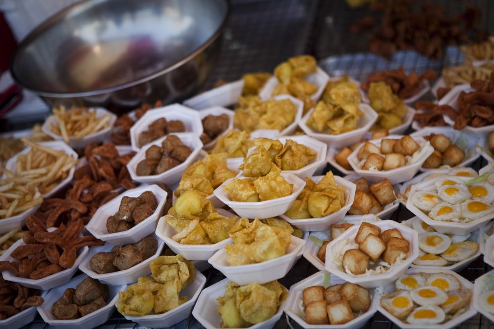 Market food selection