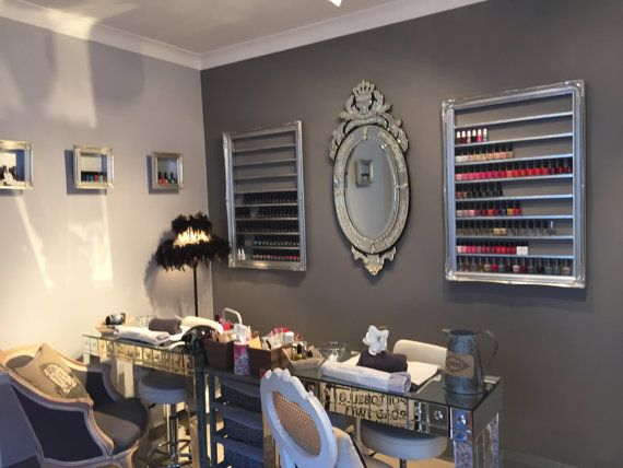 Nail Polish Rack Display For Cnd Gelish Opi By