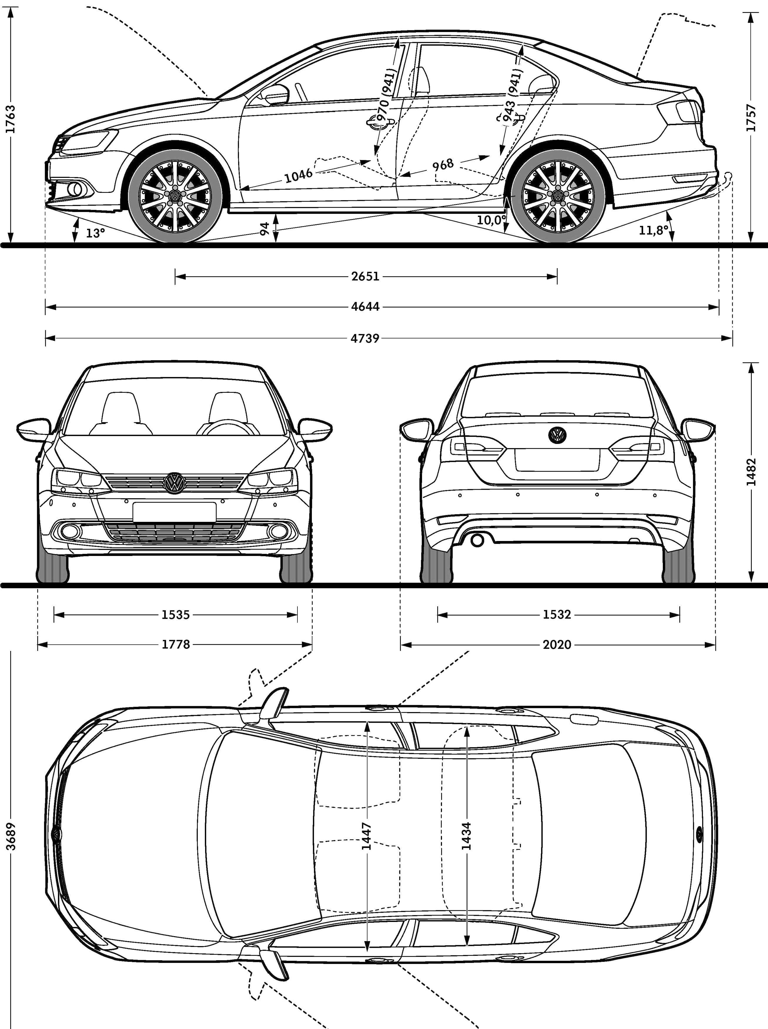 Vw Jetta Model Sheet