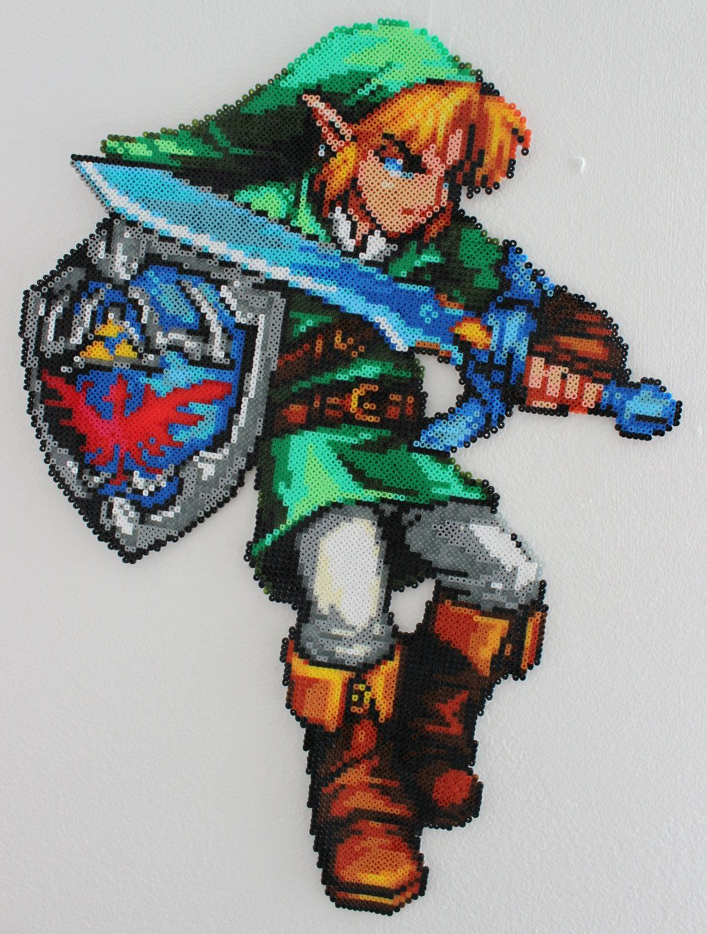Loz Link Hama Mini Beads By Alex7190 27cm X 37cm 10 6