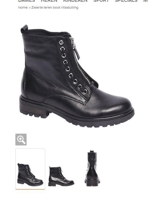 Nieuwe zwarte laarsjes Van Haren Girls Things