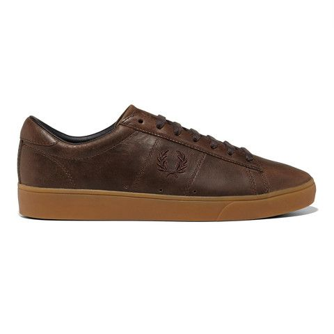 Fred Perry Spencer Waxed Leather<p>Dark Chocolate