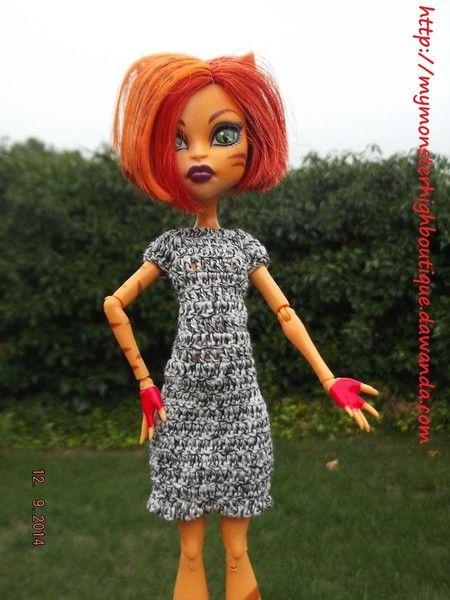 Vestido para Monster High v313 de My Monster High boutique por DaWanda.com