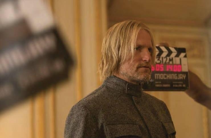 New Still Of Haymitch In Mockingjay Part 2 Mockingjay Hunger Games Hunger Games Humor