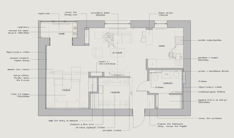 Innenarchitektur skizze grundriss  Die Apartment Einrichtung im Grundriss | Interior | Pinterest ...