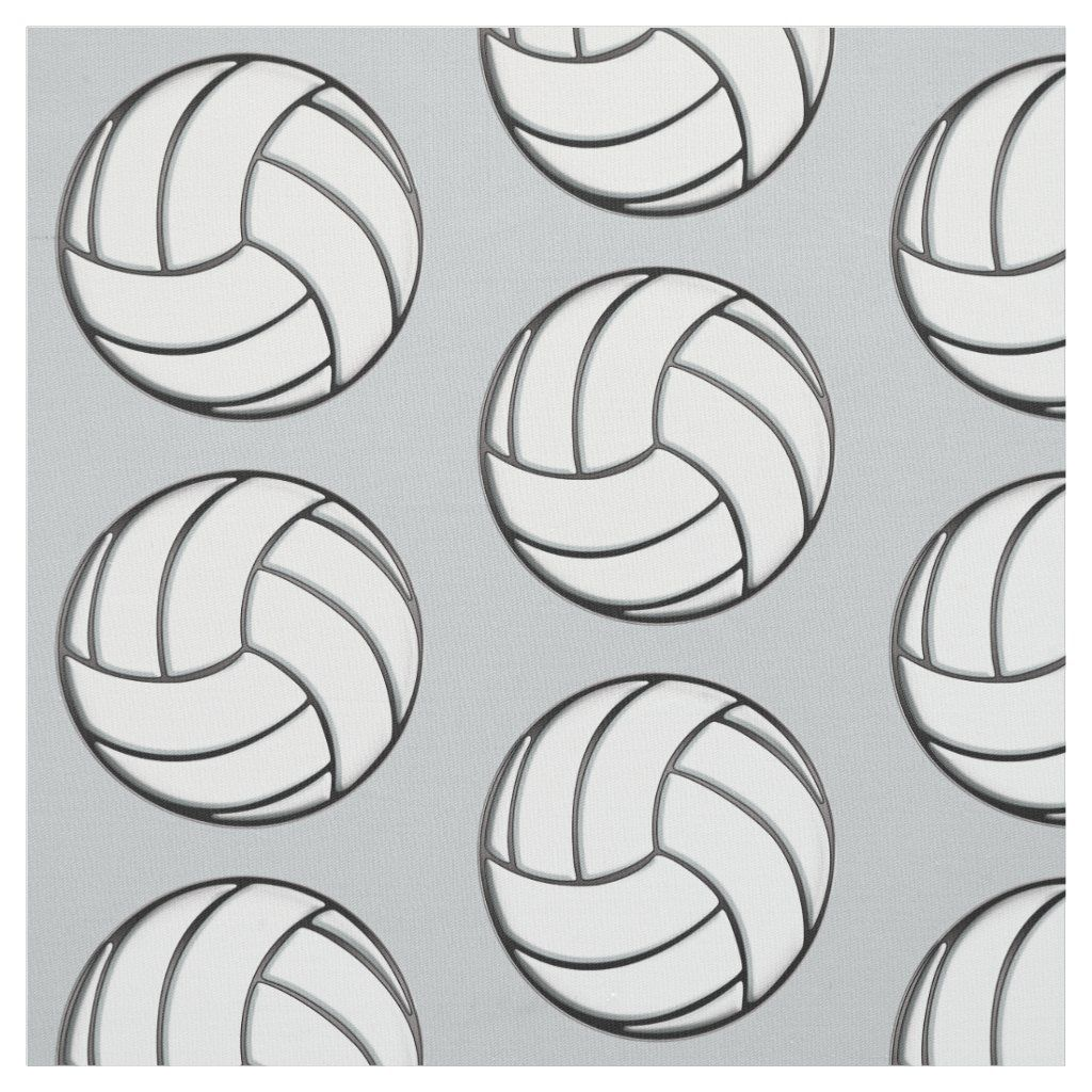 Volleyball Fabric In 2020 Volleyball Shirt Designs Volleyball Clipart Volleyball