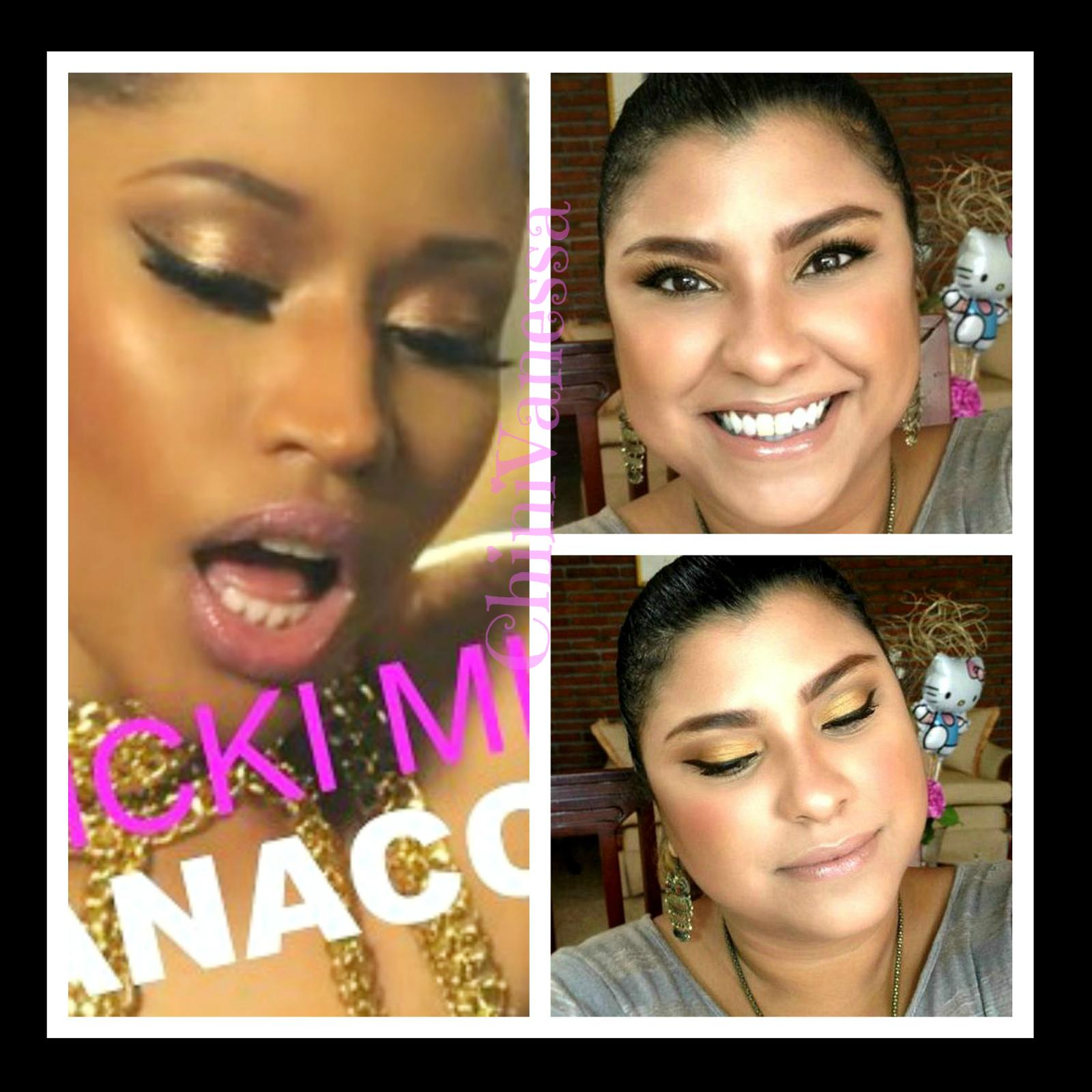 """Nicki Minaj """"Anaconda"""" Inspired Makeup Tutorial (With"""