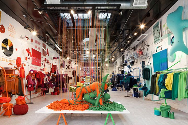 Pop Up Stores The Art Of Knit By United Colors Of Benetton New