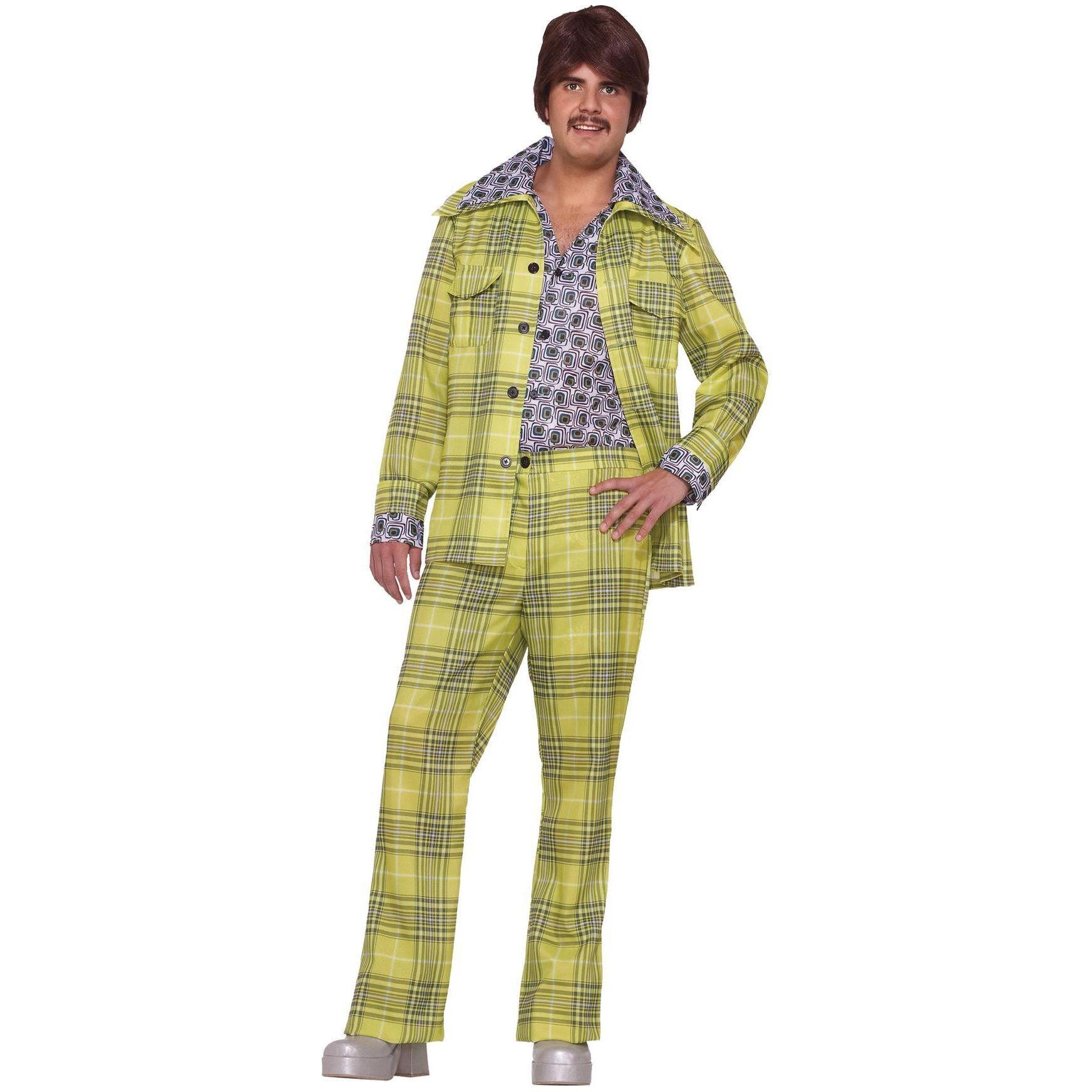 Leisure Suit 70's Plaid