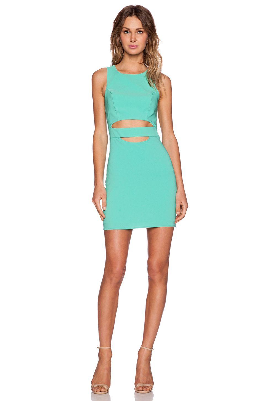 NBD NBD x Naven Twins Royals Dress in Sea Green | That Dress ...