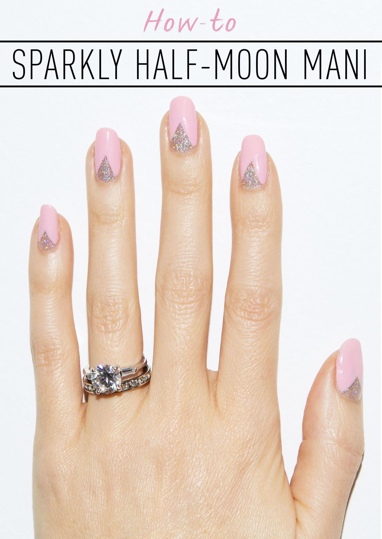 The Perfect Mani For When You Want To Show Off Your Ring Diy