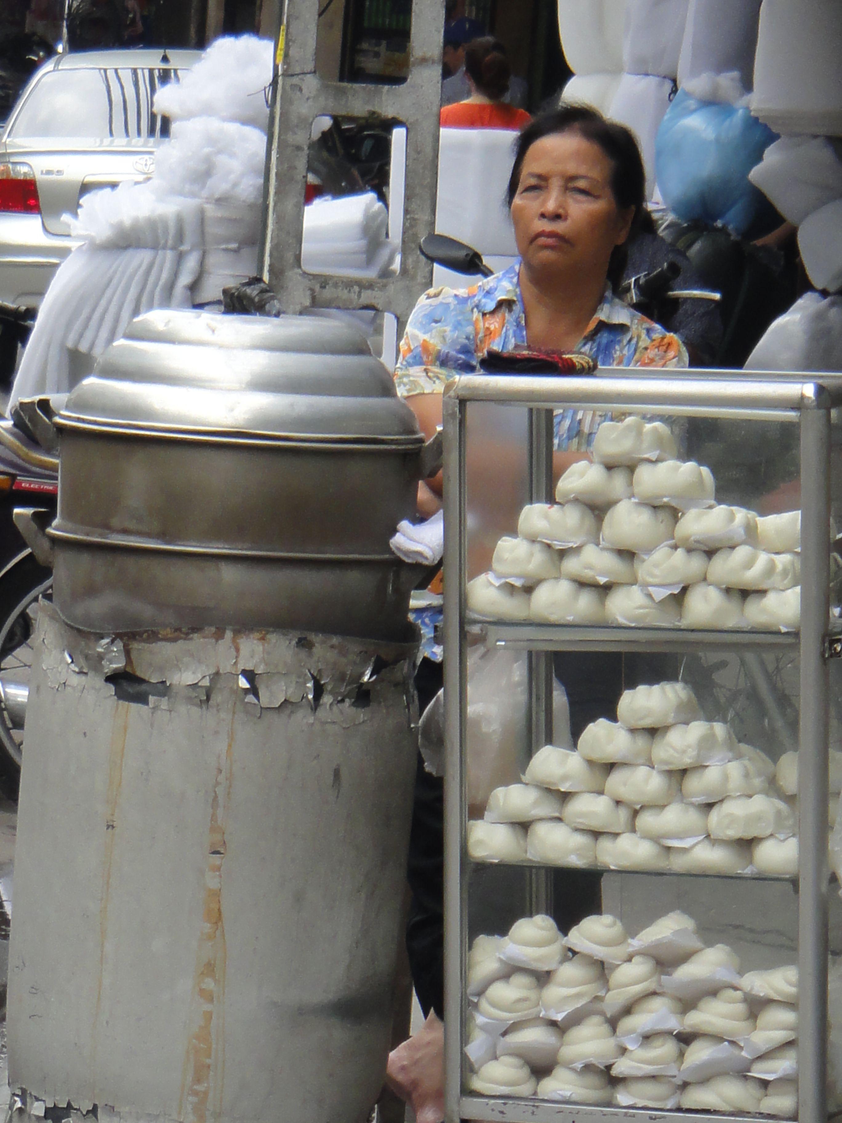 Steamed Pork Buns #Vietnam