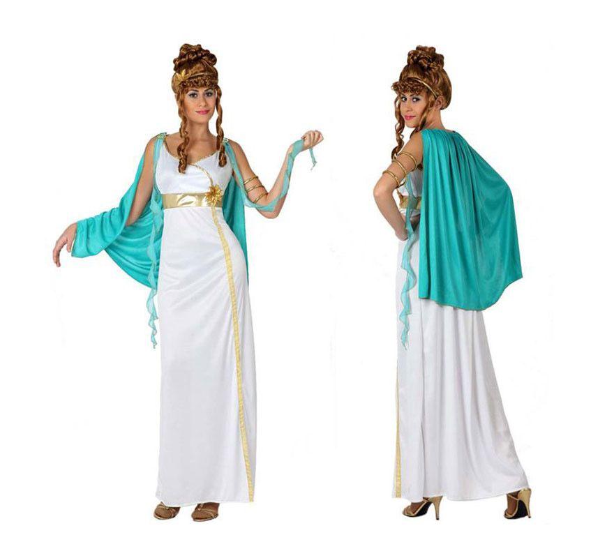 Disfraz de Romana para chicas. Talla 1 o talla S   34 38 para chicas  delgadas y adolescentes. Incluye túnica y manto. Peluca NO incluida 75e6c1f02ce