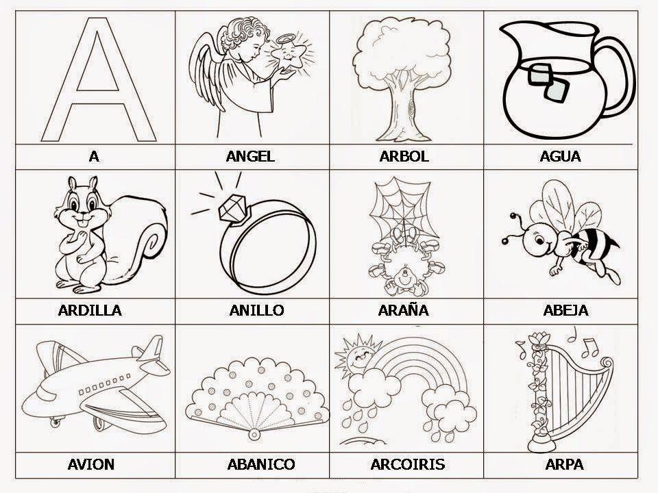 SCBlogosfera: Palabras De La A A La Z | Preschool | Pinterest ...